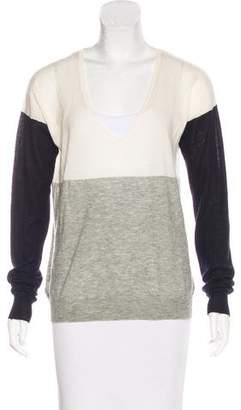 Joseph Long Sleeve Cashmere Sweater