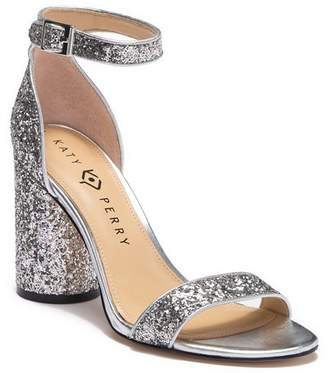 ea281584621 Katy Perry The Clara Chunky Glitter Block Heel Sandal