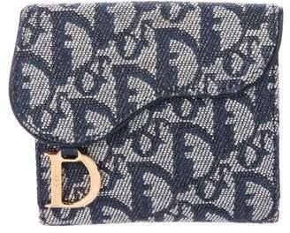 Christian Dior Diorissimo Saddle Wallet