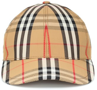 Burberry Vintage Check cotton baseball cap