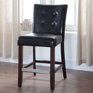 Best Master Furniture's Kitchen Faux Leather Counter Height Chair