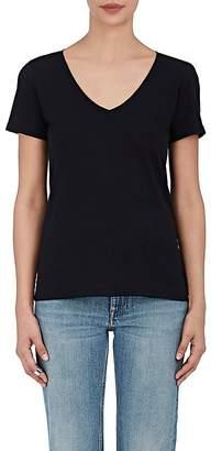Barneys New York Women's Pima Cotton V-Neck T-Shirt
