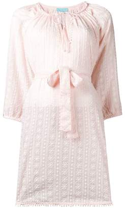 Melissa Odabash belted tunic blouse