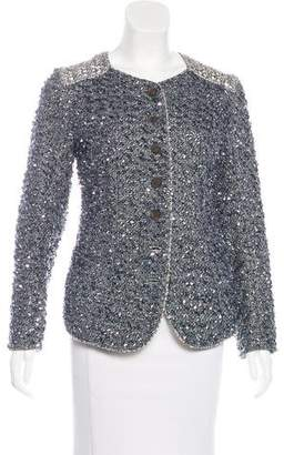 Theyskens' Theory Embellished Tweed Jacket
