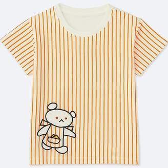 Uniqlo Toddler The Picture Book Short-sleeve Graphic T-Shirt