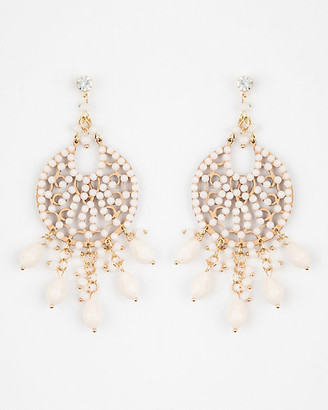 Le Château Beaded Statement Earrings
