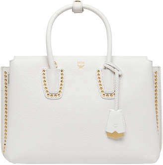 MCM Milla Tote In Studded Outline