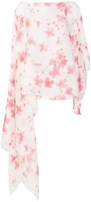 Emporio Armani floral-print scarf