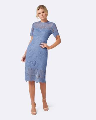 Forever New Raelyn Short Sleeve Lace Dress.