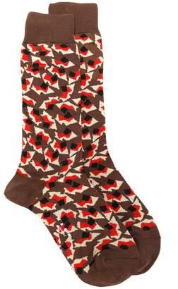 Marni Metropolis print socks