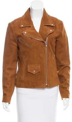 Veda Suede Moto Jacket