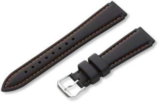 Hadley-Roma Men's MS3345RAG180 18mm Genuine Silicone Diver Sport Watch Strap