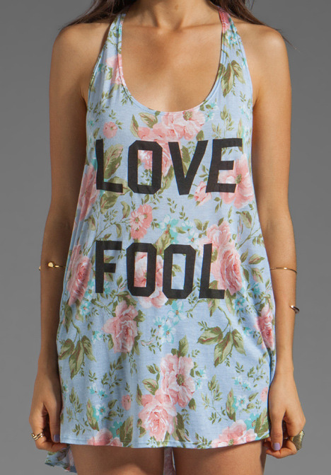 Wildfox Couture India Love Fool Tank