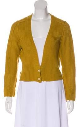 Marni Cashmere Cropped Cardigan Cashmere Cropped Cardigan