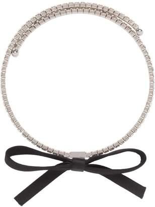 Miu Miu crystals necklace