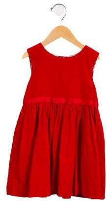 Rachel Riley Girls' Sleeveless Corduroy Dress