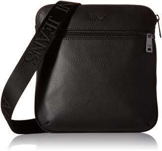 A|X Armani Exchange Armani Jeans Men's Leather Small Shoulder Bag