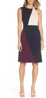 Vince Camuto Scuba Sheath Dress