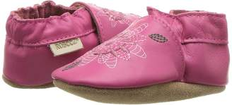 Robeez Fiona Flower Soft Sole Girl's Shoes
