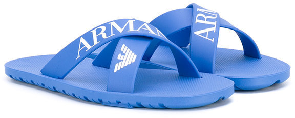 Armani JuniorArmani Junior crossover sandals