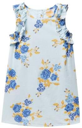 Harper Canyon Ruffle Sleeve Dress (Little Girls)