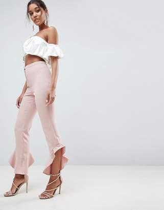 Asos DESIGN Tailored Soft Fluted Slim PANTS