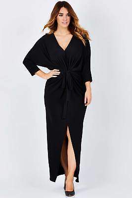 NEW bird by design Womens Maxi Dresses The Tie Front Maxi Dress