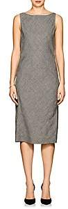 Narciso Rodriguez WOMEN'S LINEN HOPSACK SHEATH DRESS