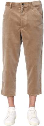 Comme des Garcons Boy Boy Ribbed Velvet Trousers
