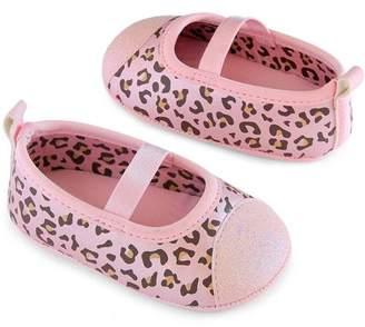 Carter's Child of Mine by Newborn Baby Girls Cheetah Maryjane Shoes, 0-6M