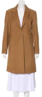 Diane von Furstenberg Cara Wool Knee-Length Coat