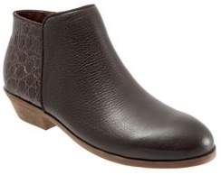 SoftWalk Rocklin Embossed Leather Booties