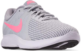 d3378cb07274 Nike Women Revolution 4 Wide Width Running Sneakers from Finish Line