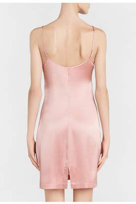 La Perla Silk Reward Powder-Pink Short Silk Slip