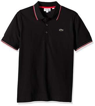 Lacoste Men's Tennis Short Sleeve Super Light Semi Fancy Polo