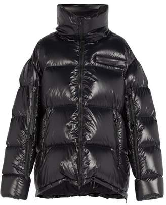 Calvin Klein Oversized Down Filled Coat - Mens - Black