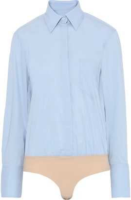 Alix Howard Cotton-blend Poplin Shirt