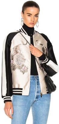Stella McCartney Lorinda Tiger Embroidered Jacket