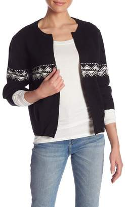 Molly Bracken 3\u002F4 Sleeve Open Front Cardigan