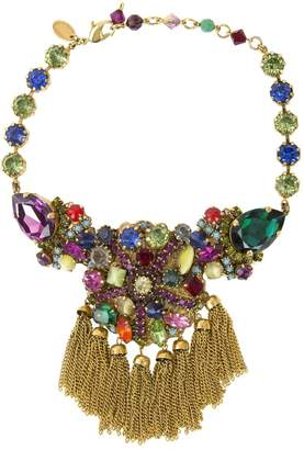 Erickson Beamon Gold Crystal Necklace
