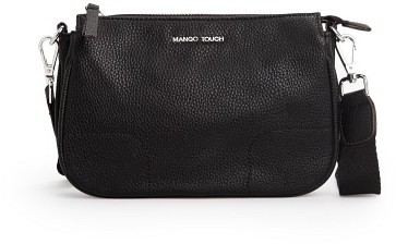MANGO Outlet Double Compartment Cross Body Bag
