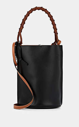 Loewe Women's Gate Leather Bucket Bag - Black