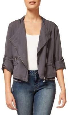 Dex Asymmetric Zip Jacket