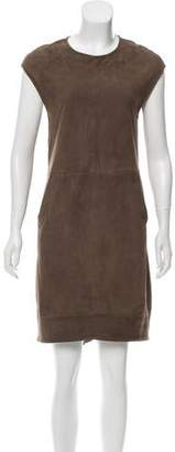Eleventy Suede Sleeveless Dress w/ Tags