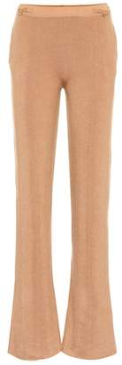 Gabriela Hearst Diego ribbed cashmere pants
