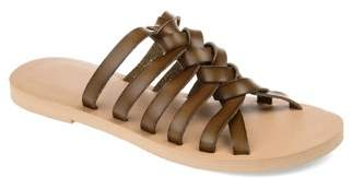 Brinley Co. Womens Knotted Slip-on Sandal