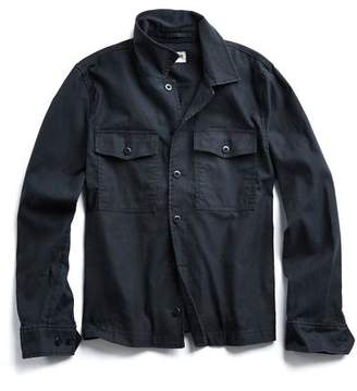 Todd Snyder CPO Overshirt Jacket in Black