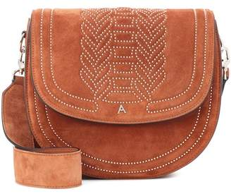 Altuzarra Ghianda Saddle suede shoulder bag