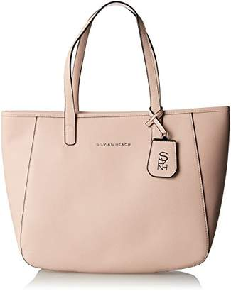 Silvian Heach Women's RCP18064BO Top-Handle Bag Pink