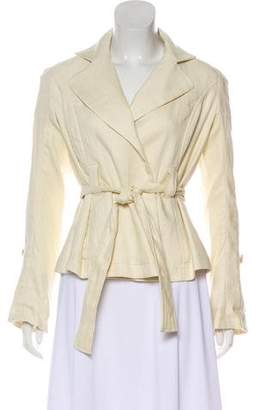 Diane von Furstenberg Knit Notch-Lapel Blazer w/ Tags